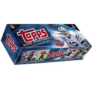 NFL 2015 Topps Football Cards Complete Set Trading Card Box [Hobby]