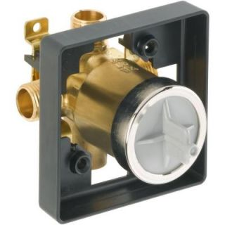 Delta MultiChoice Universal Shower Valve Body Rough In Kit R10000 UNBXHF
