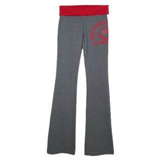 Wisconsin Badgers Womens Pants   Grey
