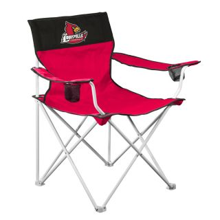 Logo Chairs Big Boy NCAA University Of Louisville Cardinals Folding Camping Chair