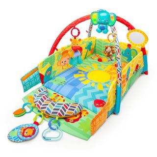 Bright Starts Baby's Play Place Playmat    Kids II