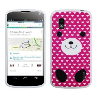 INSTEN Dog Love Candy Skin Phone Case Cover for LG E960 Nexus 4