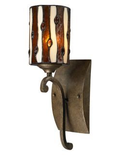 Dale Tiffany TW12442 Antique Golden Bronze Wall Light