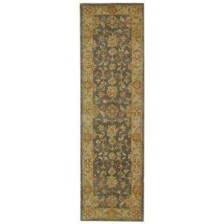 Safavieh Antiquity Blue/Beige 2 ft. 3 in. x 14 ft. Runner AT312A 214