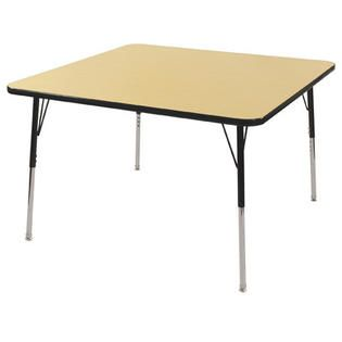 Ecr4Kids ECR4Kids® 48 Square Activity Table   Side Finish Black