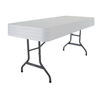 OFFLINE Lifetime 6 Commercial Grade Folding Table, Select Color   4 pack
