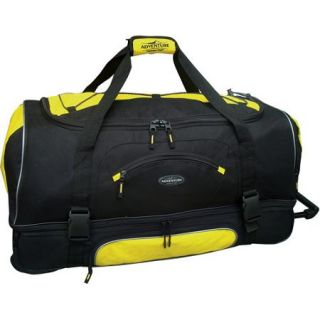 "Travelers Club 30"" Drop Bottom Rolling Duffel with Telescopic Handle"