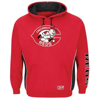Majestic MLB Team Hoodie   Mens   Baseball   Clothing   Cincinnati Reds   Red