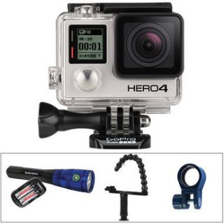 GoPro  HERO4 Black with Underwater Lighting Kit