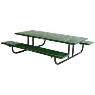 SportsPlay Early Years 8 ft. Rectangle Perforated Thermoplastic Steel Kids Picnic Table