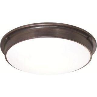 Sylvania 3 Light Old Bronze Indoor LED Ceiling Flushmount 75252.0