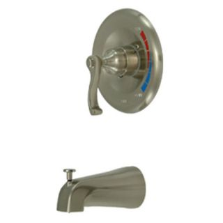 Kingston Brass KB8638FLTO Satin Nickel Tub Faucet