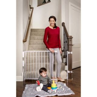 Regalo Extra Tall Expandable Top of Stairs Baby Gate, Includes Mounting Kit