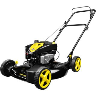 "Briggs & Stratton Brute 22"" Mulch/Side Discharge Self Propelled Front Wheel Drive Gas Powered Lawn Mower"