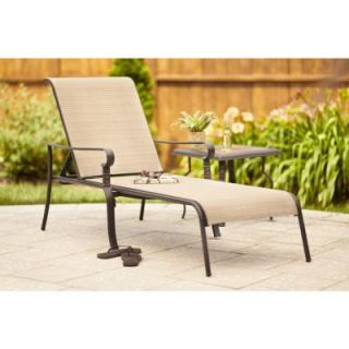 Hampton Bay Belleville Patio Chaise Lounge FLS80132