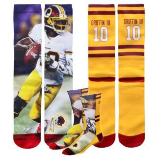 For Bare Feet NFL Sublimated Player Socks   Accessories   Oakland Raiders   Derek Carr   Multi
