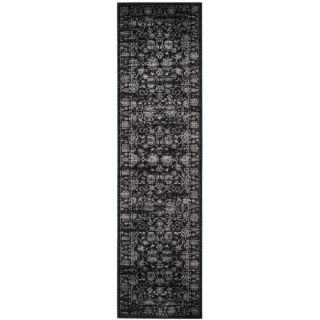 Safavieh Vintage Black/ Light Grey Rug (2 2 x 8)   18647969
