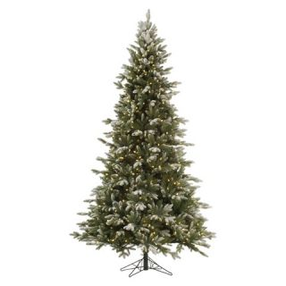 ft. Frosted Balsam LED Pre lit Artificial Christmas Tree   Warm