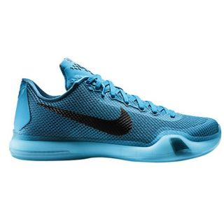 Nike Kobe X   Mens   Basketball   Shoes   Kobe Bryant   Black/Metallic Silver/Radiant Emerald