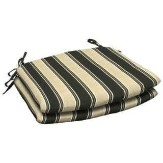 Arden Twilight Stripe Wrought Iron Seat Outdoor Cushion 2 Pack DISCONTINUED JA44118X 9D2   Mobile