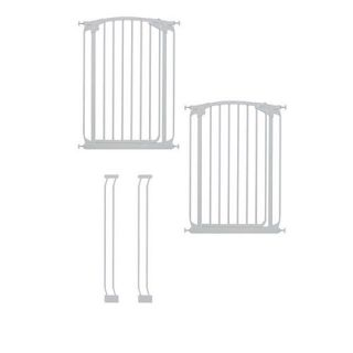 Dreambaby Madison Extra Tall Swing  Close Gate Extra Value Pack   White    Dreambaby