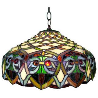 Warehouse of Tiffany Ariel 1 Light Hanging Pendant