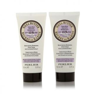 Perlier Shea Butter Hand Cream with Lavender Extract Duo   7729714