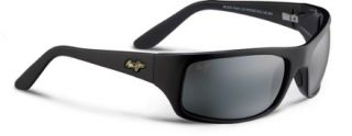 Maui Jim Peahi Polarized Sunglasses   Black   Mens