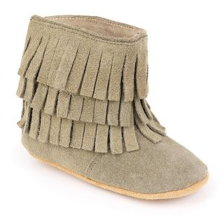 Augusta Baby Soft Sole Fringe Booties   18377008