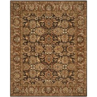 Safavieh Anatolia Dark Brown/Gold 9 ft. 6 in. x 13 ft. 6 in. Area Rug AN615B 10