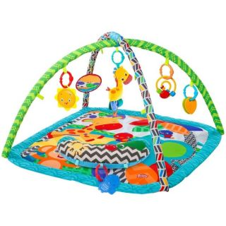 Bright Starts Silly Safari Polyester Baby Activity Gym   18881075