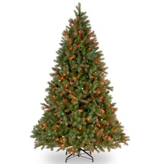 foot Feel Real Downswept Douglas Fir Hinged Tree with 750 Multi