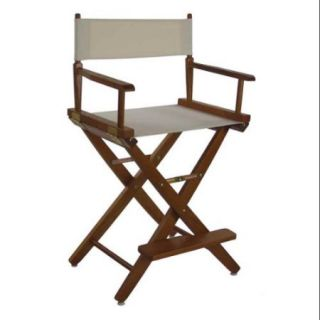Extra Wide Wooden Frame Directors Chair