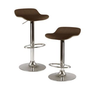 Winsome 93 Kallie Air Lift Adjustable Stool   Set of 2