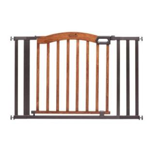 Summer Infant 32 in. H Decorative Wood and Metal Pressure Mounted Gate 27330