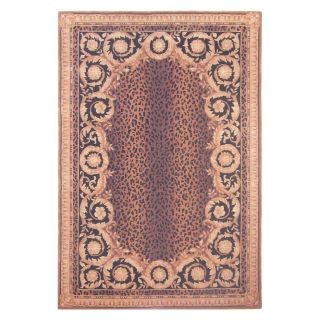 Safavieh Naples NA712A Area Rug   Black/Gold   Area Rugs