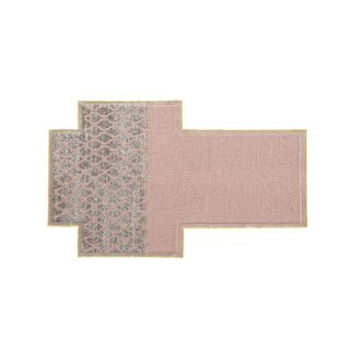 Mangas Space Rhombus Pink Area Rug by GAN RUGS