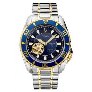 Bulova Marine Star Mens Watch 98A106