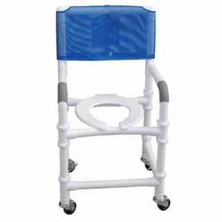 MJM International Standard Deluxe Knocked Down Shower Chair