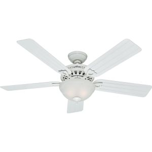 Hunter HUF 53122 Beachcomber White  Ceiling Fans Lighting