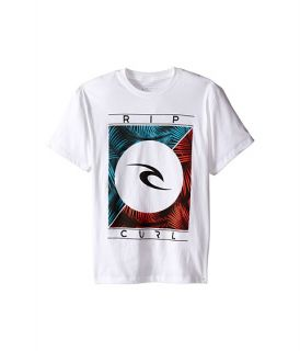 Rip Curl Kids Palm Dreamer Premium Tee (Big Kids) White