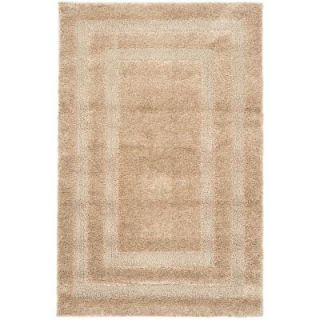 Safavieh Florida Shag Beige 8 ft. 6 in. x 12 ft. Area Rug SG454 1313 9
