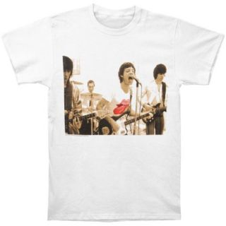 Rolling Stones Mens Group T shirt White