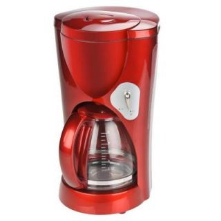 KALORIK 10 Cup Coffee Maker in Candy Apple Red DISCONTINUED CM 33030 CAR