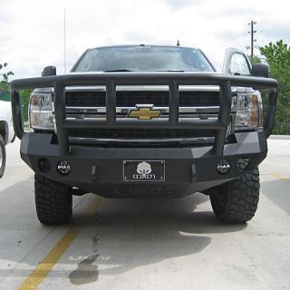 Road Armor Stealth Base Front Bumper With Titan II Guard 2008 2010 Chevy HD 2500/3500
