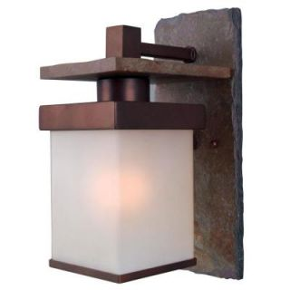 Kenroy Home Boulder Copper Outdoor Small Wall Mount Lantern 70281COP