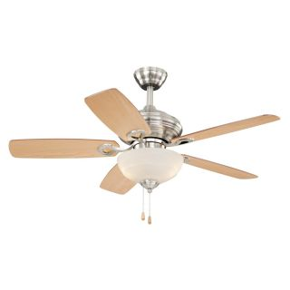 Vaxcel Lighting FN42999SN Valencia 5 Blade Indoor Ceiling Fan in Satin Nickel