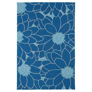 Kaleen 2041 17 Home and Porch Indoor / Outdoor Rug   Blue   Area Rugs
