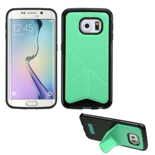 Insten TPU Rubber Candy Skin Phone Case Cover with Stand For Samsung