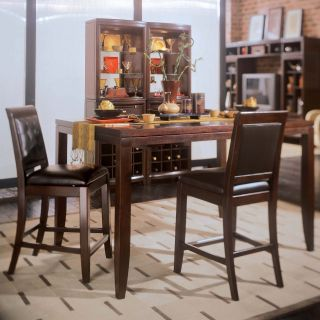 American Drew Tribecca Counter Height Table Set   Kitchen & Dining